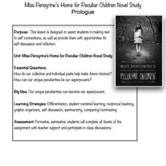 thumbnail of Prologue Miss Peregrine
