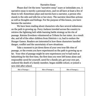 thumbnail of Narrative Essays -2